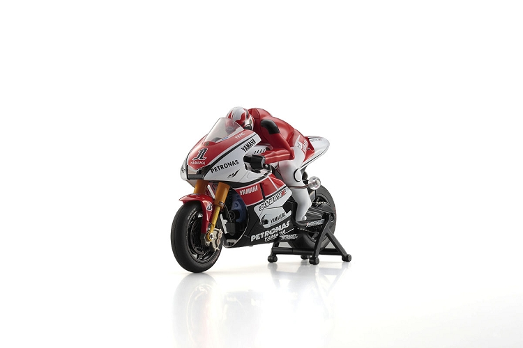 Kyosho Yamaha YZR-M1 Red 2011 No.1 WG 1/18 electric
