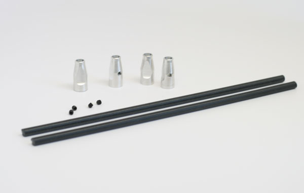 Alleven RC DX450/M5 Nylon Bar Mount Kit (silver)