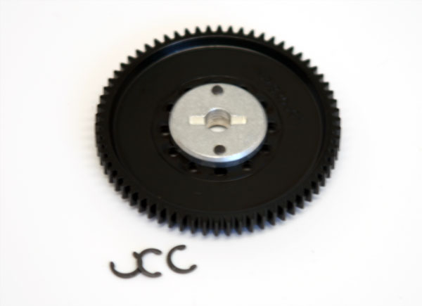 Alleven RC DX450/M5 32P Spur Gear with Alloy Hub