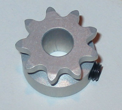 Alleven RC Front Sprocket (9T/Silver)