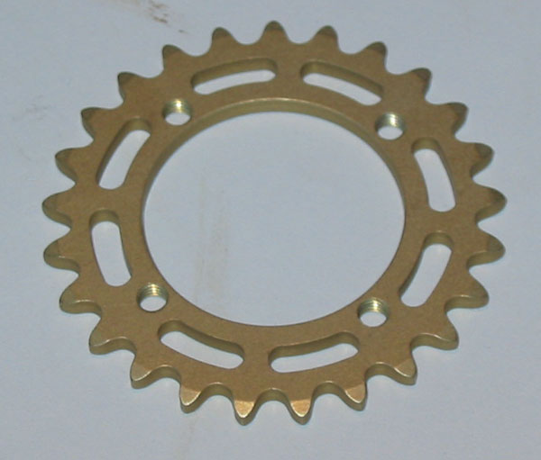 Alleven RC Rear Sprocket (25T/Gold)