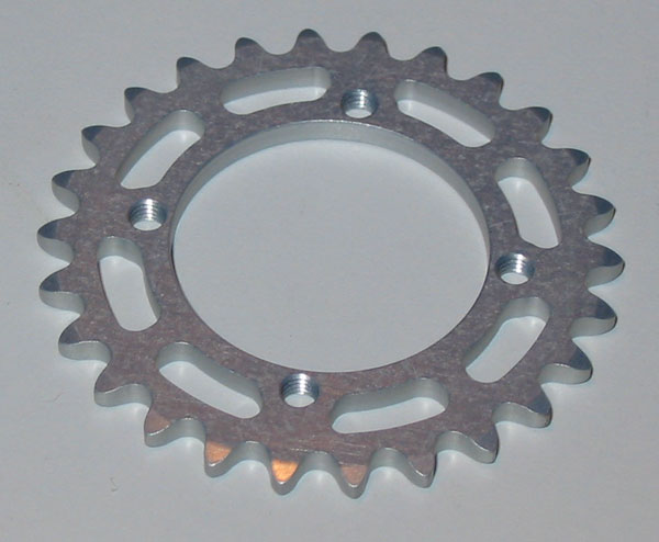 Alleven RC Rear Sprocket (28T/Silver)
