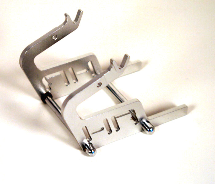 Hot Racing Motorcycle Stand (silver)