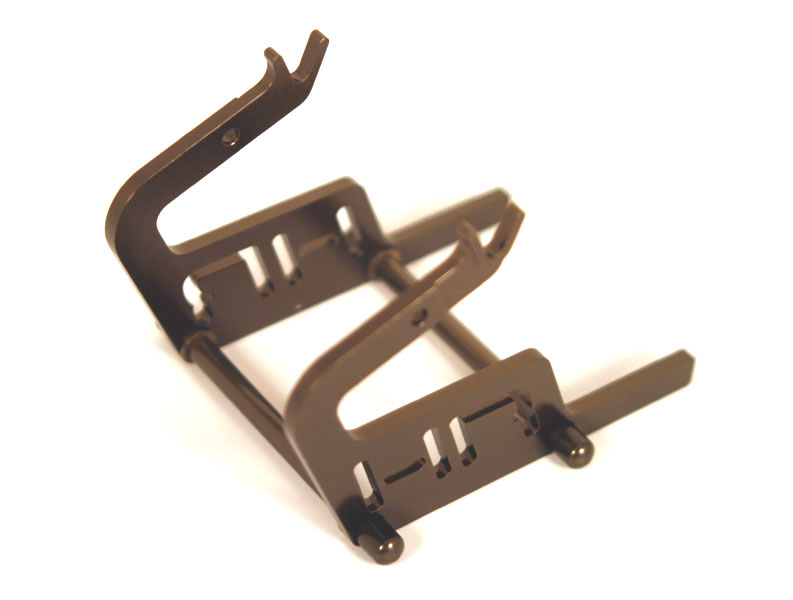 HOT Racing Motorcycle Stand (titanium)