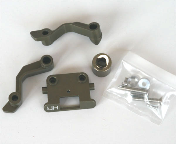 Hot Racing Racer figure seat support (titanium)