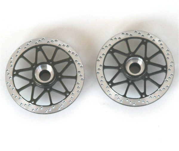 Hot Racing Twin Star front brake disk (titanium)
