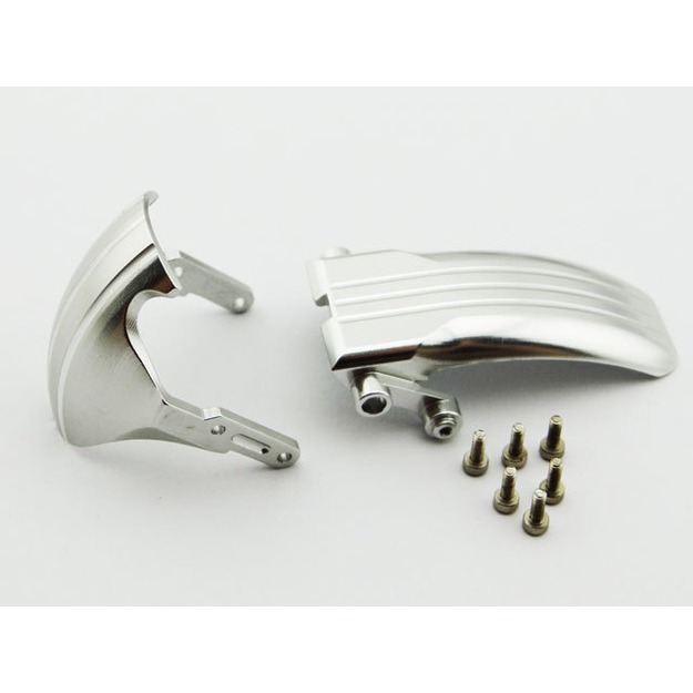 Hot Racing Front and Rear Fender Set (silver)