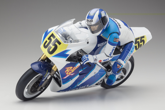 Kyosho Hanging-On Rider 1/8 EP S.R.T. SUZUKI RGV 1992 Kit