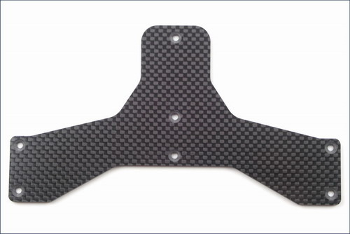 Kyosho Kart Optional Carbon Fiber T-Bar Plate (2.5mm)