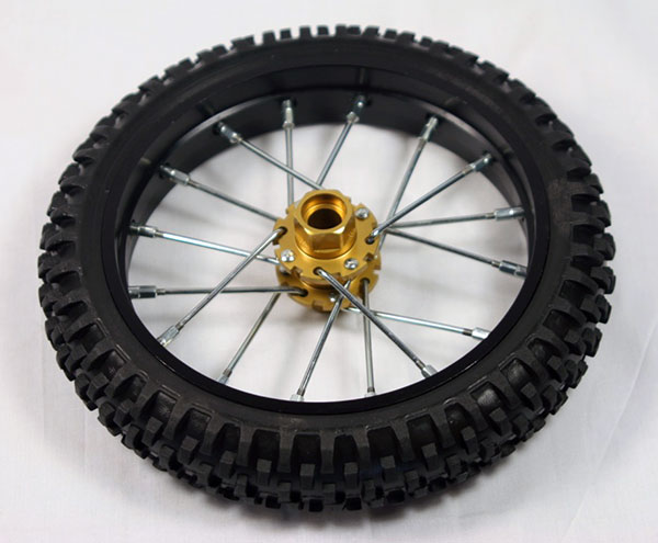 Nuova Faor Knobby Tire & Wheel (front) - CSF411