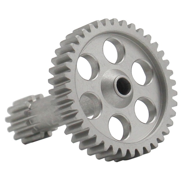 Hot Racing Aluminum Spur Gear 39t-12t T3-01