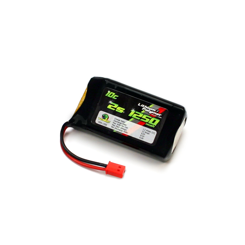 10C 7.4v 1250mah 2-Cell LiPO Battery