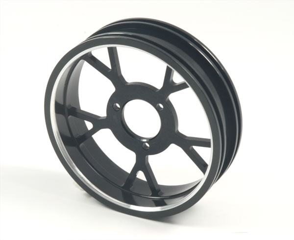 ZH Racing Z-201B Wheel Y Spoke Black Rear