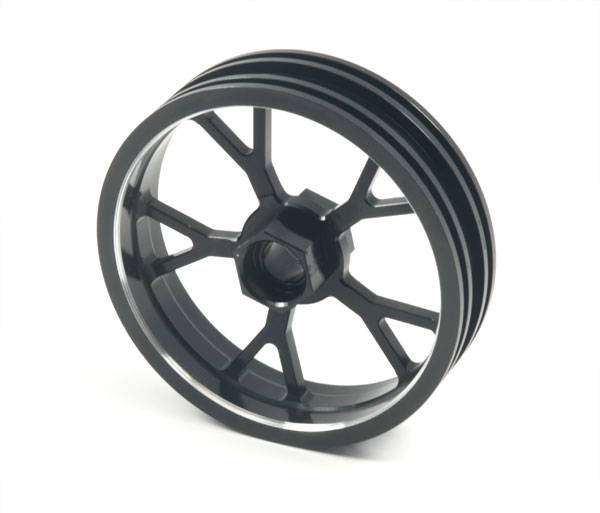 ZH Racing Z-201B Wheel Y Spoke Black Front
