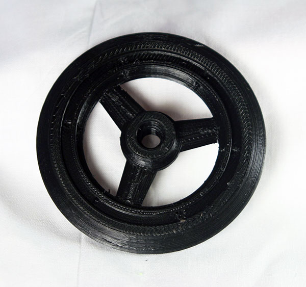 ZH Racing 1/8 HOR Solid Wheel/Insert (front)