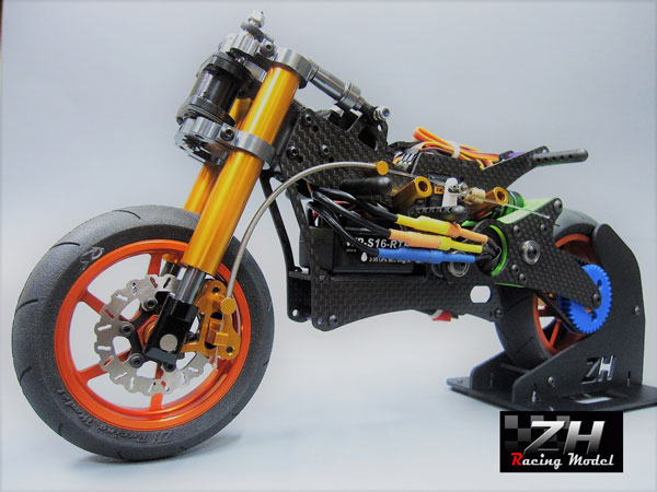 ZH Racing Z216B 1/8 Electric Motorcycle