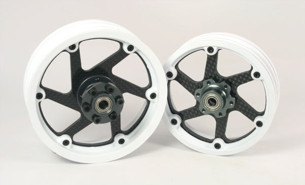 ZH Racing Carbon Spoke Set for SB-5 (style 1)