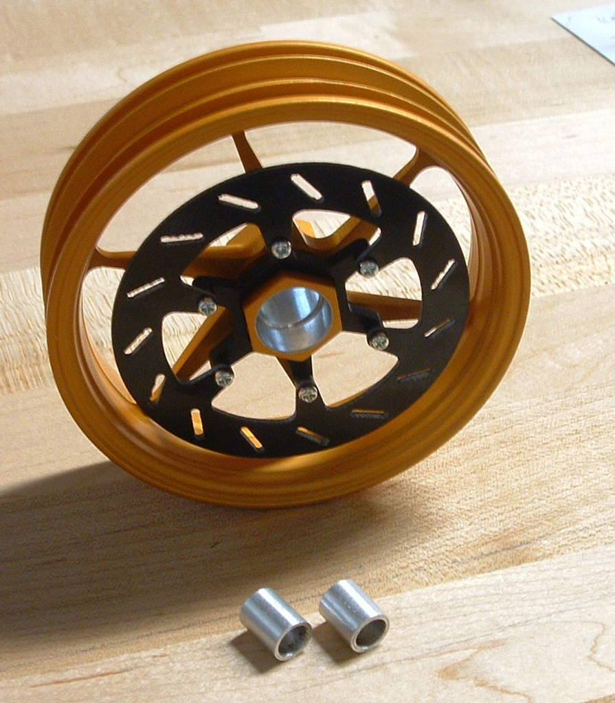 Alleven RC Hex Hub Thunder Tiger Front Brake Rotor
