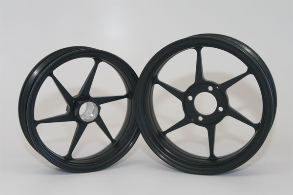 Alleven RC Wheel Set (black)