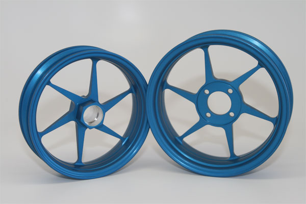 Alleven RC Wheel Set (blue)