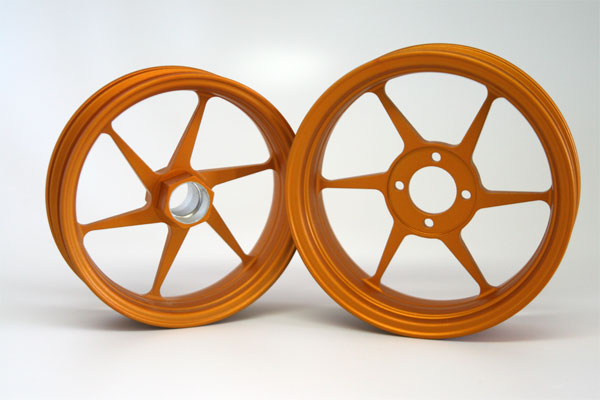 Alleven RC Wheel Set (orange)
