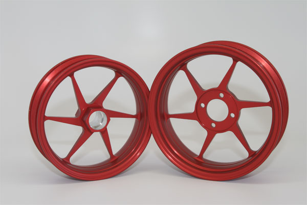 Alleven RC Wheel Set (red)