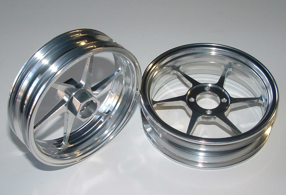 Alleven RC Wheel Set (silver)