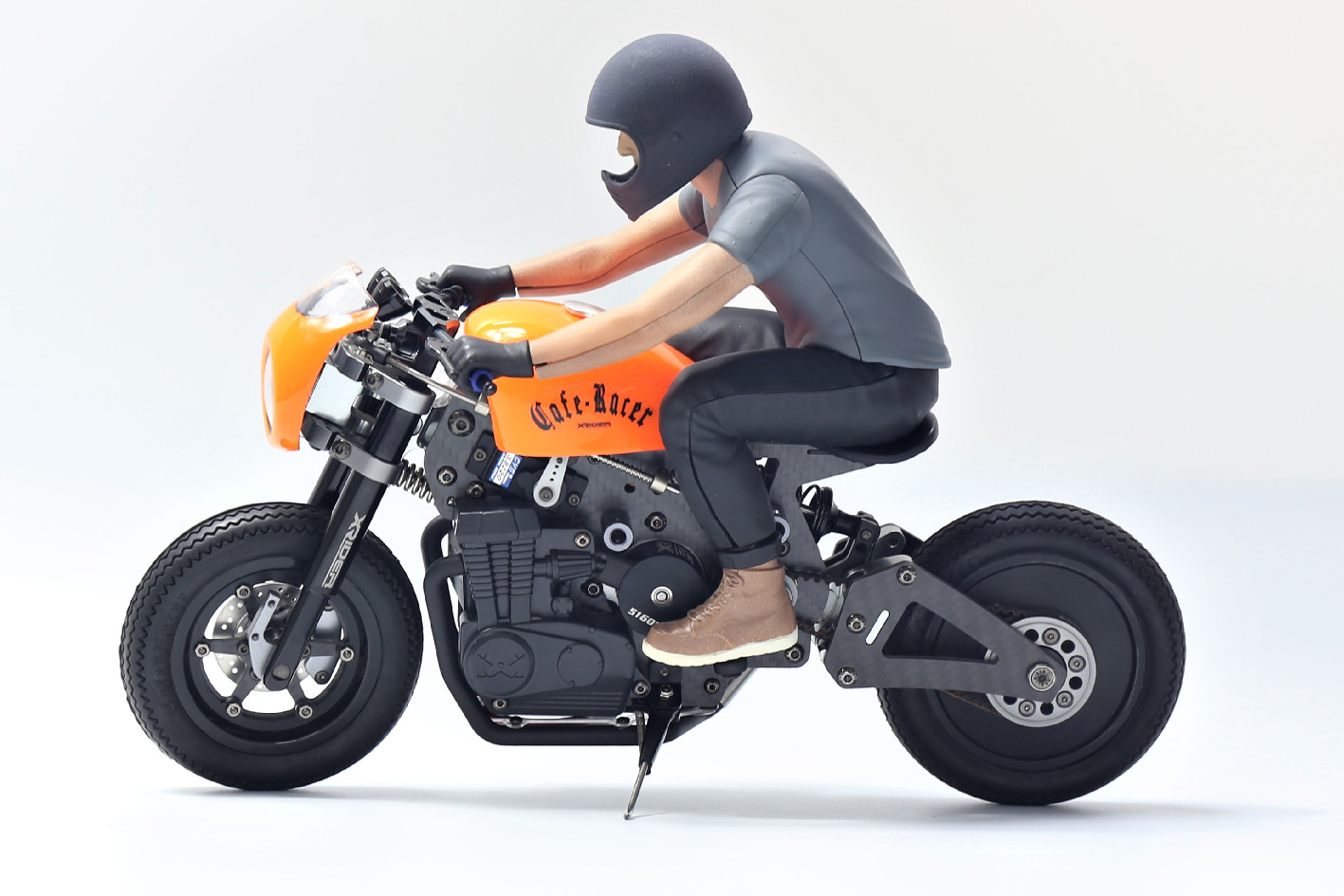 X-Rider Caferacer 1/8 Electric ARTR w/Rider