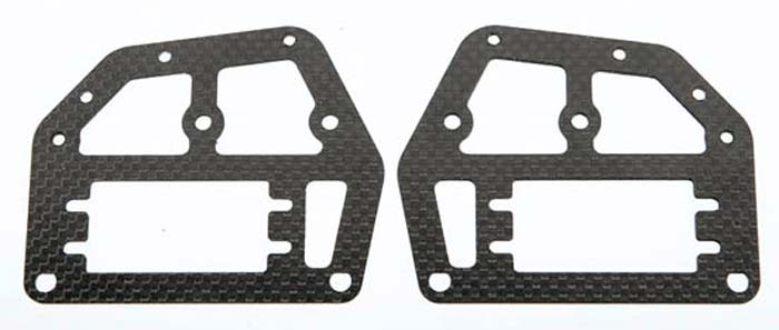 Carbon Fiber Frame Upper Left/Right DX450