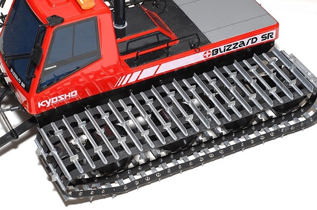 Kyosho Heavy Metal Caterpillar - Blizzard SR