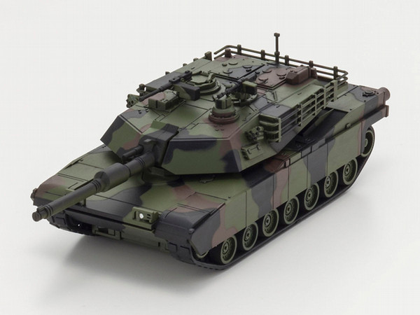 Kyosho Abrams M1A2 Tank - Black/Green/Brown