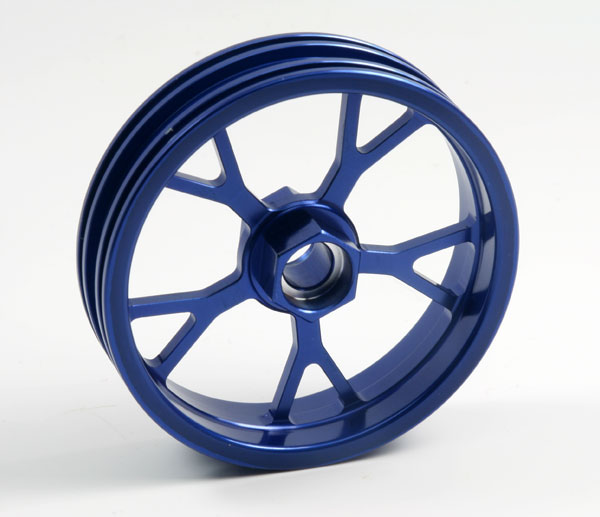 ZH Racing Z-201B Wheel Y Spoke Blue Front