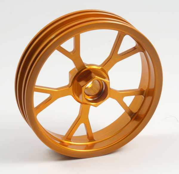 ZH Racing Z-201B Wheel Y Spoke Gold Front