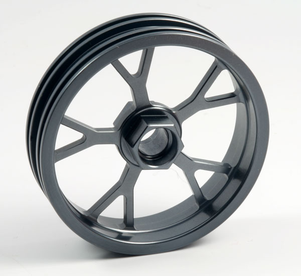 ZH Racing Z-201B Wheel Y Spoke Gray Front