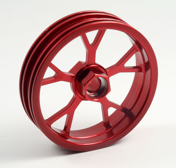 ZH Racing Z-201B Wheel Y Spoke Red Front