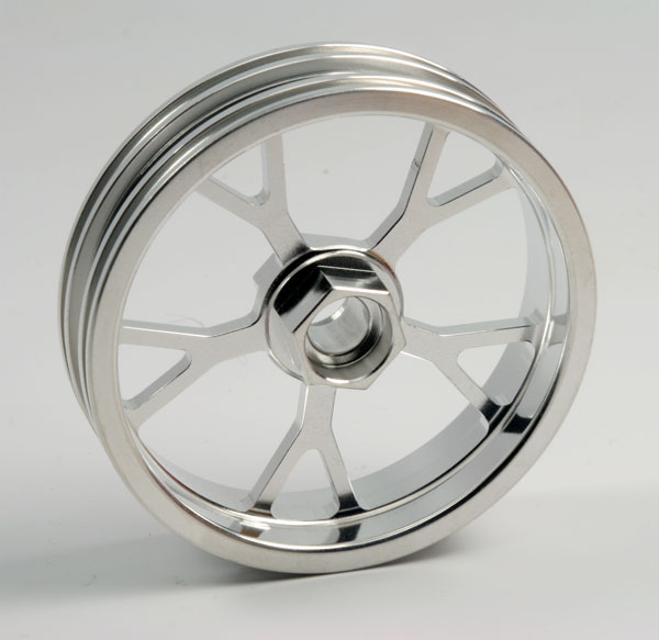 ZH Racing Z-201B Wheel Y Spoke Silver Front
