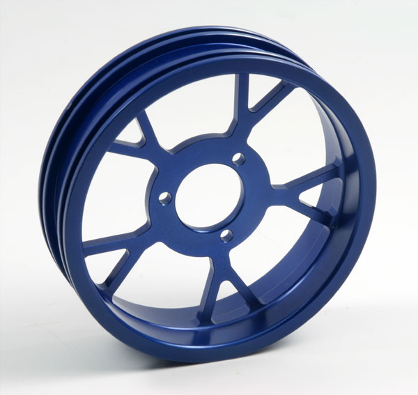 ZH Racing Z-201B Wheel Y Spoke Blue Rear