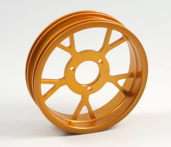 ZH Racing Z-201B Wheel Y Spoke Gold Rear
