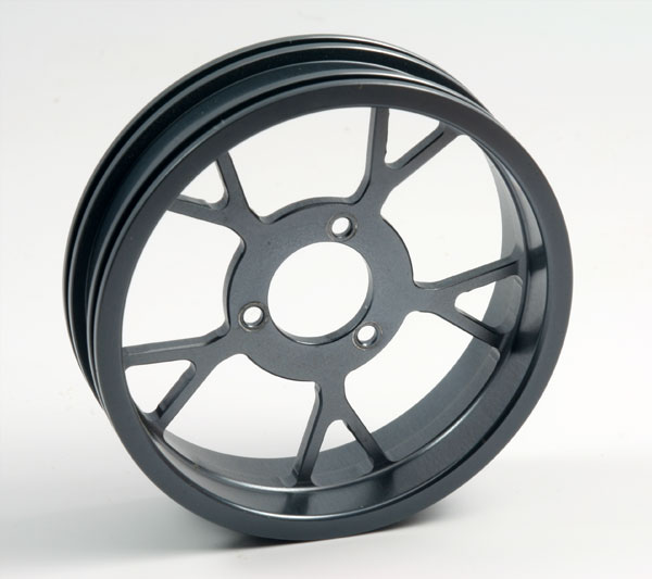 ZH Racing Z-201B Wheel Y Spoke Gray Rear