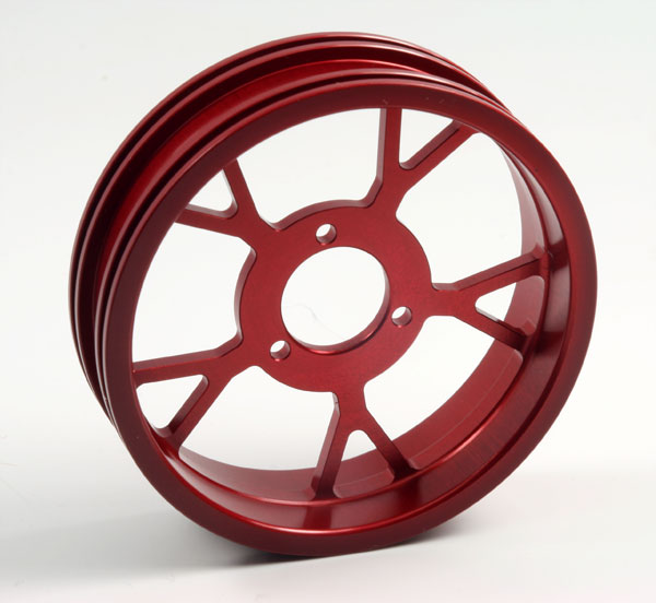 ZH Racing Z-201B Wheel Y Spoke Red Rear