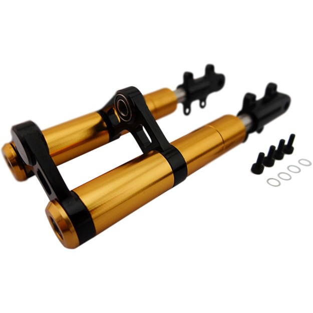 Hot Racing GP Style Front Damper (gold)