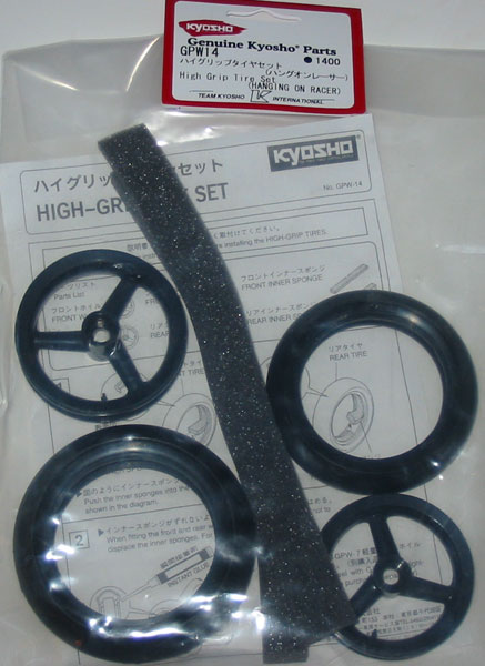 Kyosho High Grip Tire Set